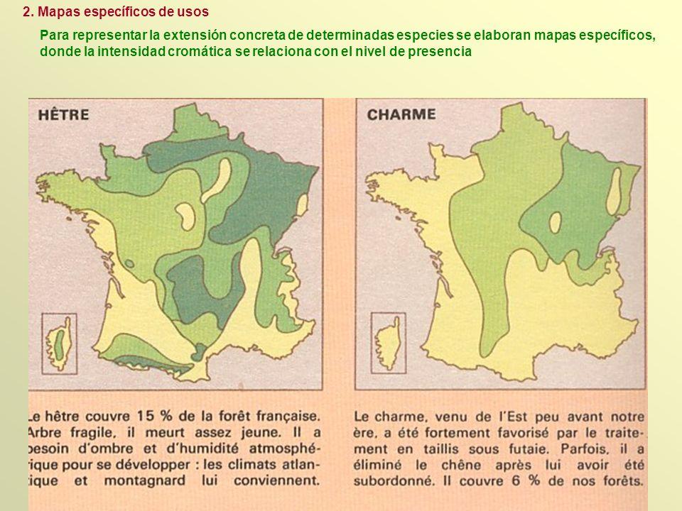 2. Mapas específicos de usos
