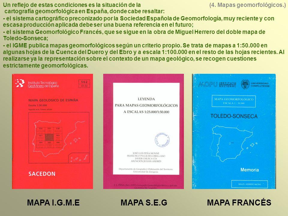 MAPA I.G.M.E MAPA S.E.G MAPA FRANCÉS