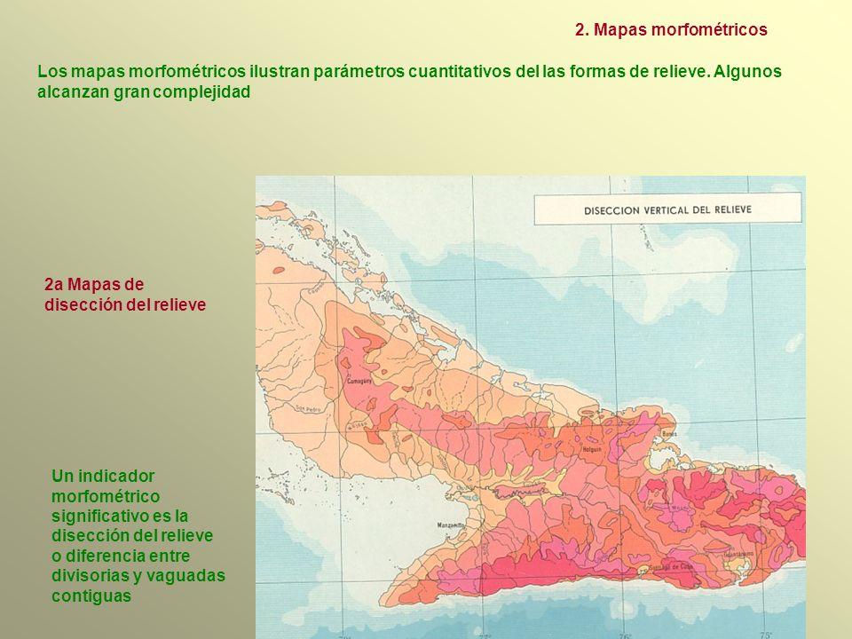 2a Mapas de disección del relieve