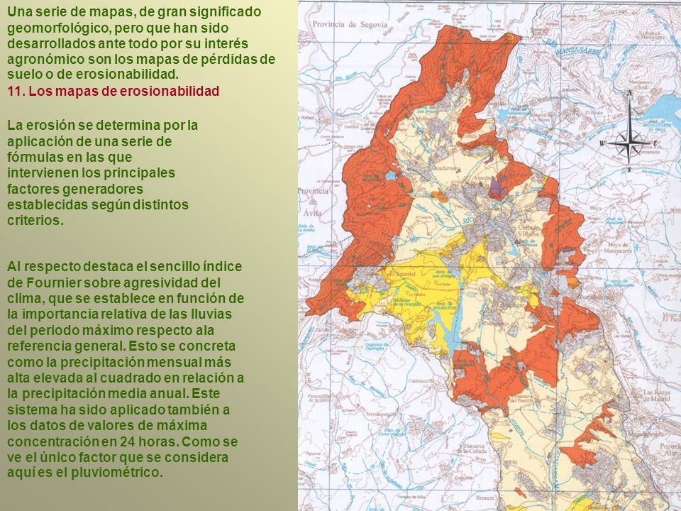 11. Los mapas de erosionabilidad