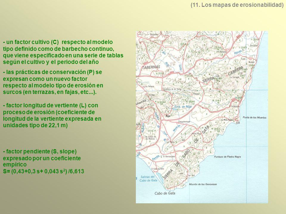 (11. Los mapas de erosionabilidad)