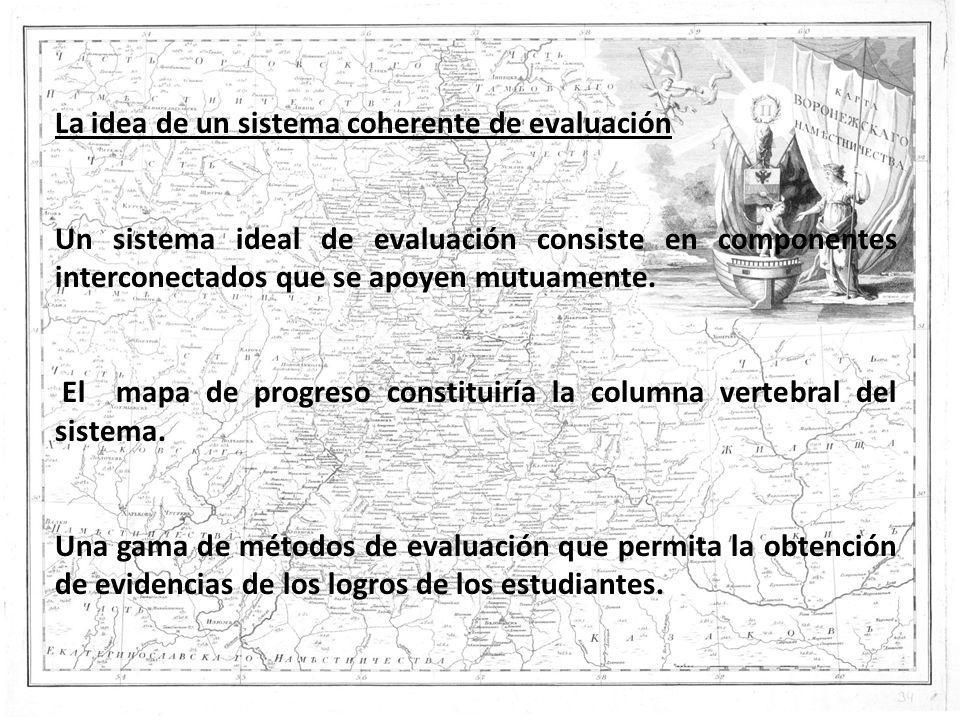 La idea de un sistema coherente de evaluación