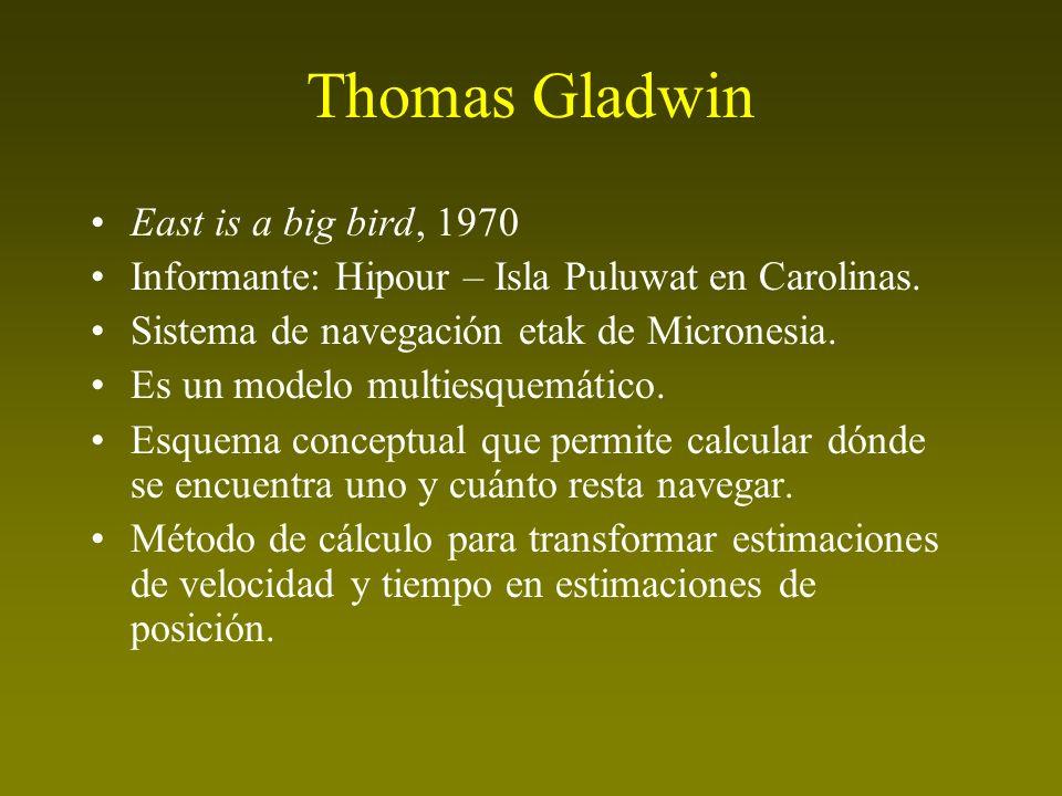 Thomas Gladwin East is a big bird, 1970