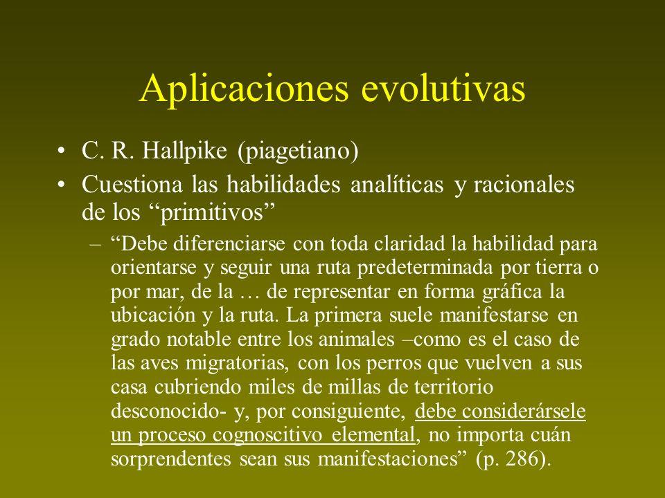 Aplicaciones evolutivas