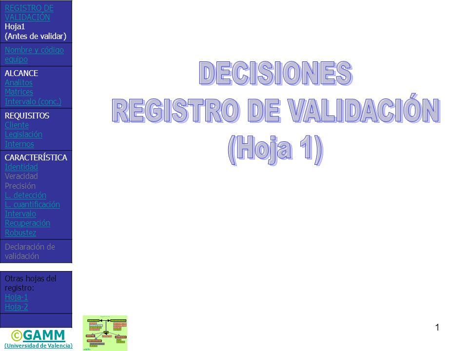 (Universidad de Valencia)