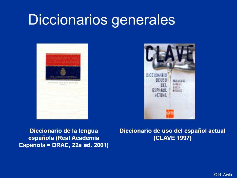 Diccionario de uso del español actual (CLAVE 1997)