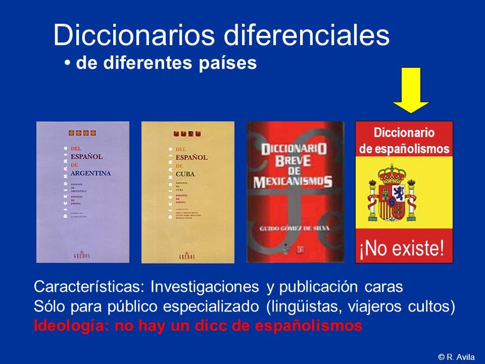 Diccionarios diferenciales