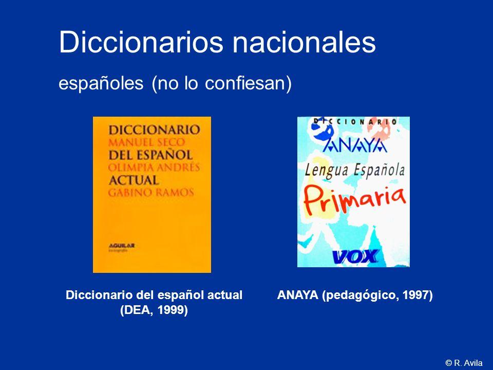 Diccionario del español actual