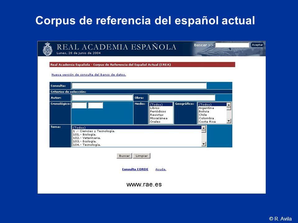 Corpus de referencia del español actual