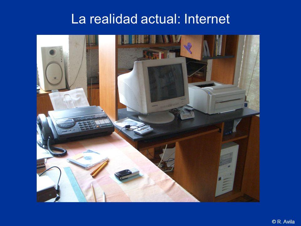 La realidad actual: Internet