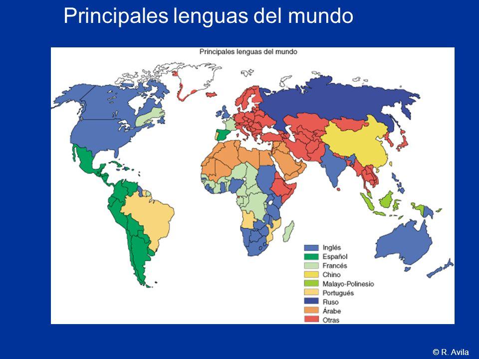 Principales lenguas del mundo