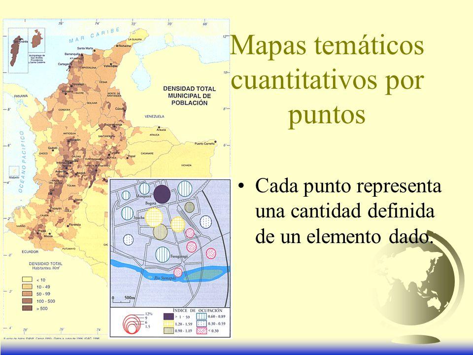 Mapas temáticos cuantitativos por puntos