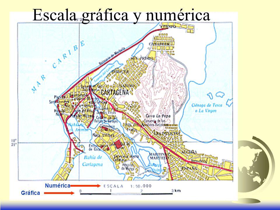 Escala gráfica y numérica