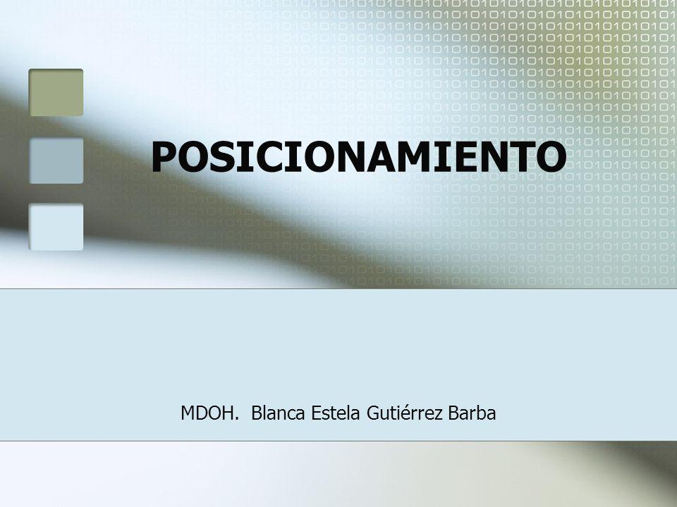 MDOH. Blanca Estela Gutiérrez Barba