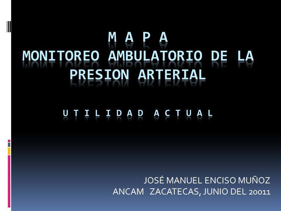 JOSÉ MANUEL ENCISO MUÑOZ ANCAM ZACATECAS, JUNIO DEL 20011