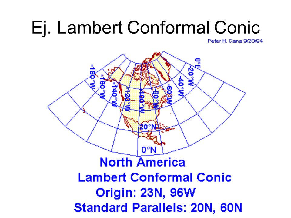 Ej. Lambert Conformal Conic