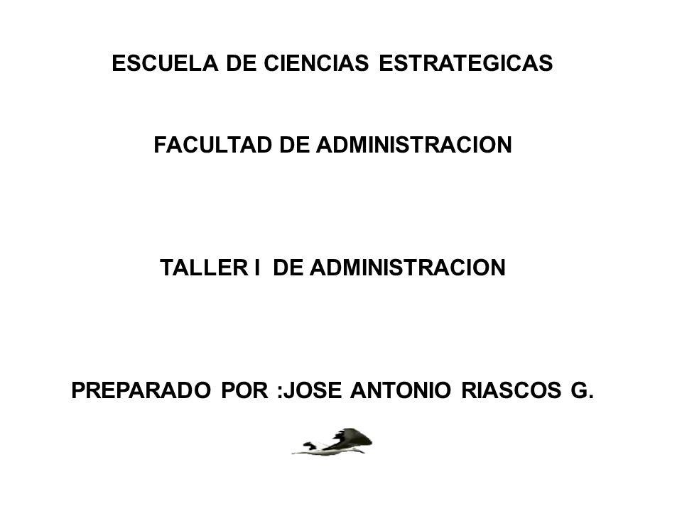 ESCUELA DE CIENCIAS ESTRATEGICAS