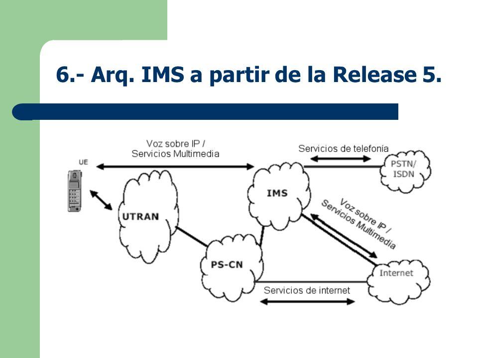 6.- Arq. IMS a partir de la Release 5.