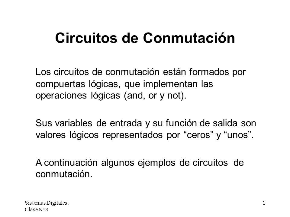 Circuitos de Conmutación