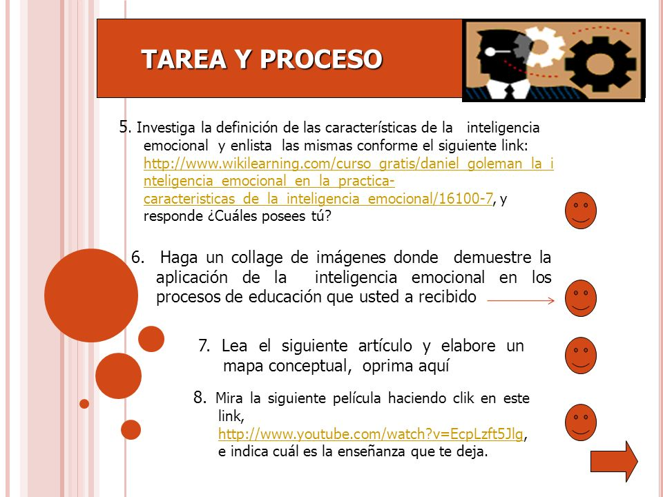 TAREA Y PROCESO