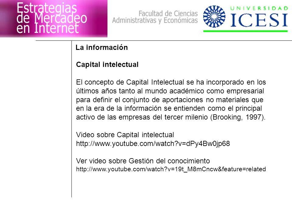 El concepto de Capital Intelectual se ha incorporado en los