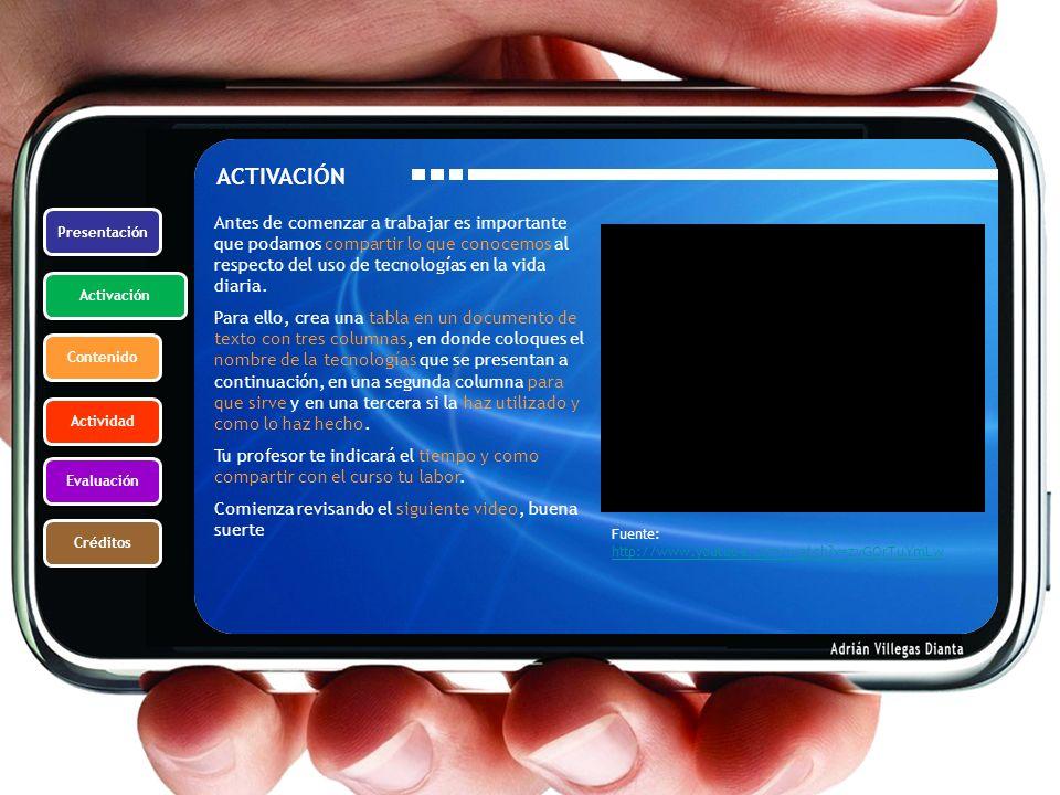 ACTIVACIÓN Presentación.