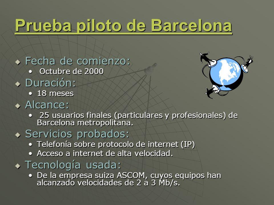 Prueba piloto de Barcelona