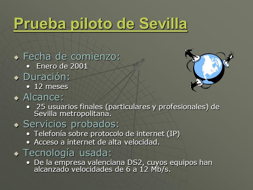 Prueba piloto de Sevilla