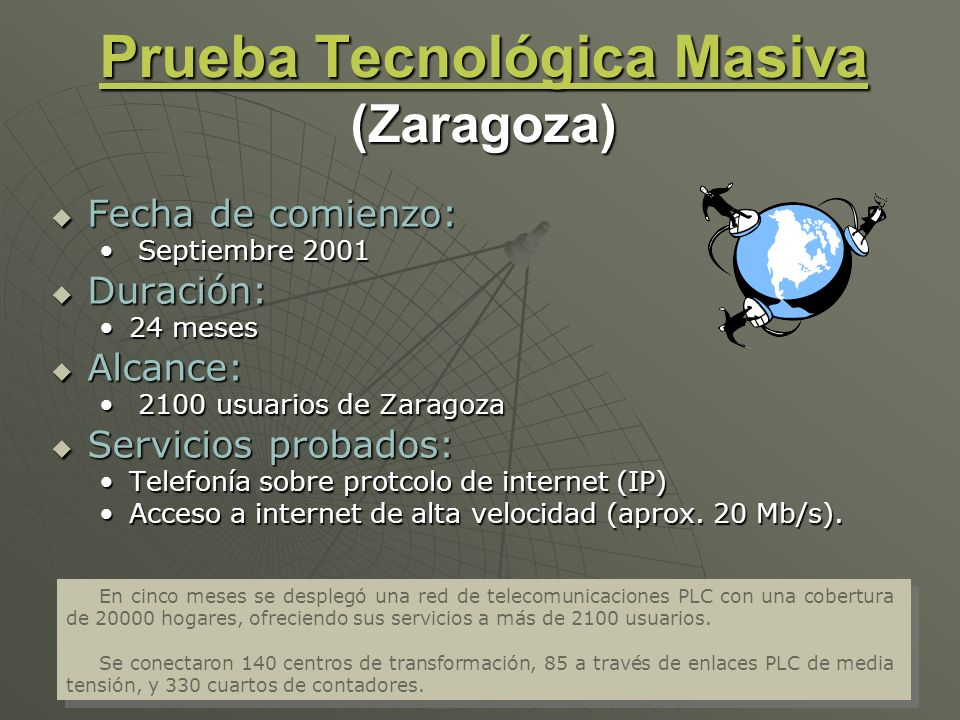 Prueba Tecnológica Masiva (Zaragoza)