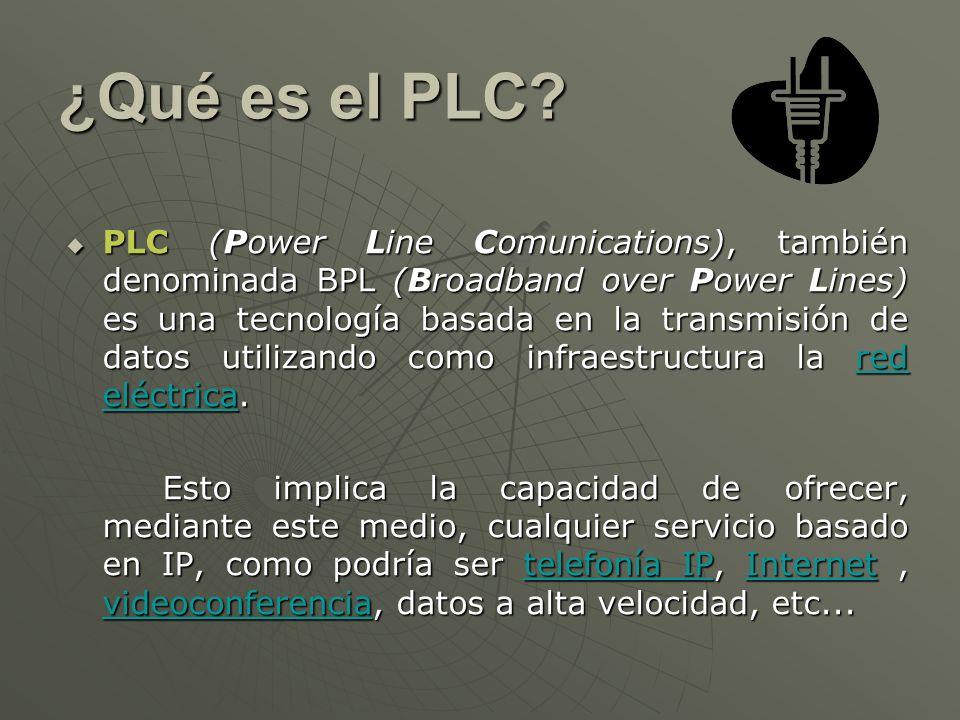 ¿Qué es el PLC