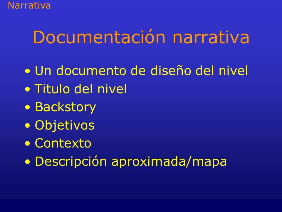 Documentación narrativa