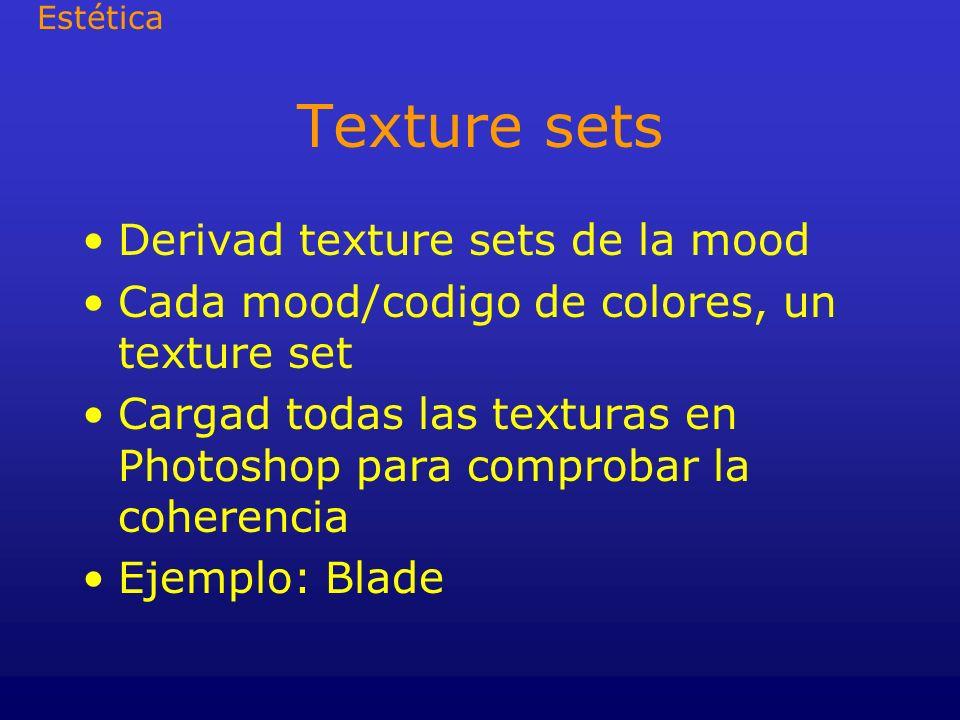Texture sets Derivad texture sets de la mood
