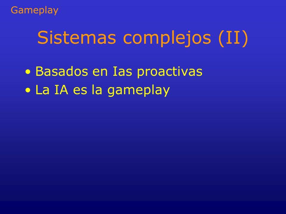 Sistemas complejos (II)