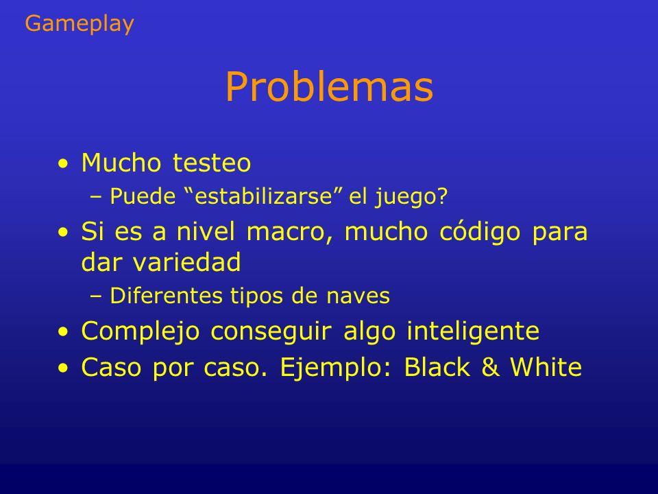 Problemas Mucho testeo