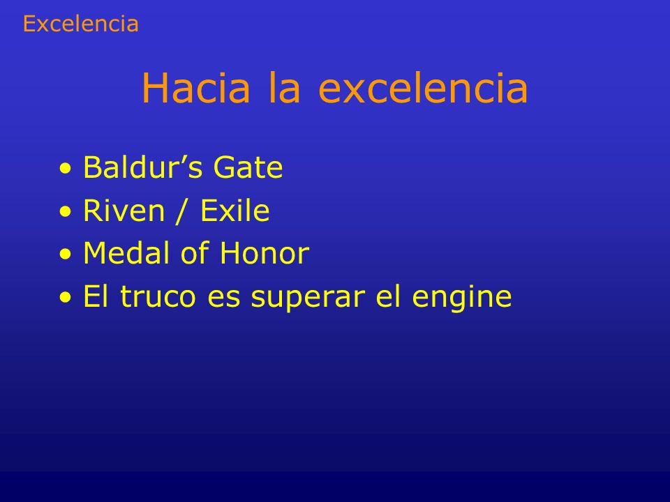 Hacia la excelencia Baldur's Gate Riven / Exile Medal of Honor