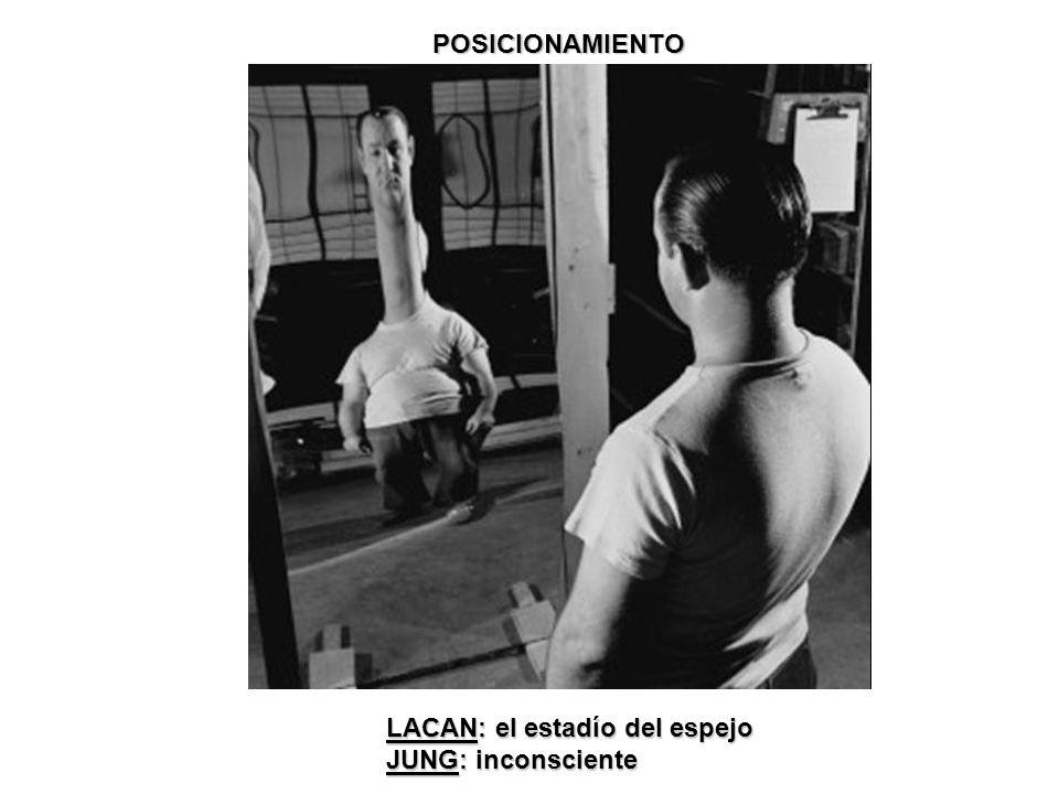 POSICIONAMIENTO LACAN: el estadío del espejo JUNG: inconsciente