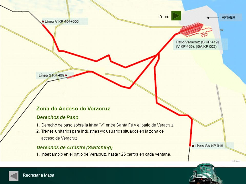 Zona de Acceso de Veracruz