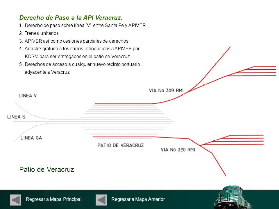 Patio de Veracruz Derecho de Paso a la API Veracruz.