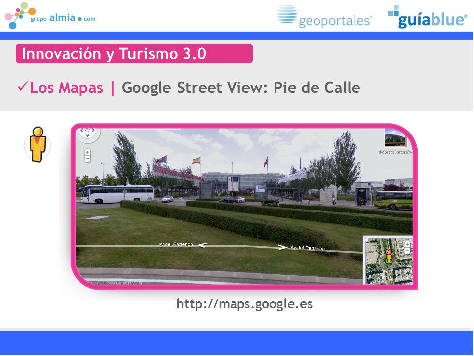Los Mapas | Google Street View: Pie de Calle