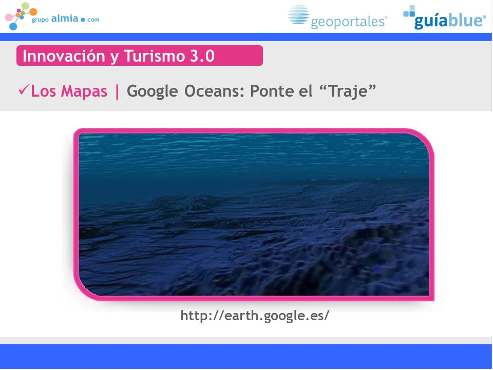 Los Mapas | Google Oceans: Ponte el Traje