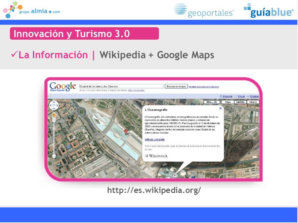 La Información | Wikipedia + Google Maps