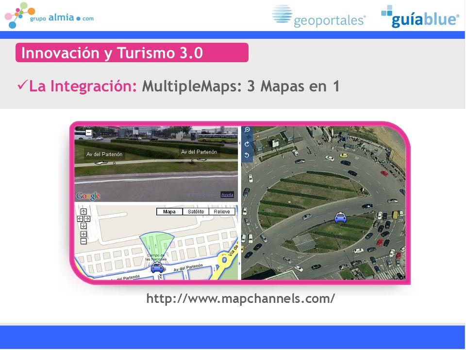 La Integración: MultipleMaps: 3 Mapas en 1