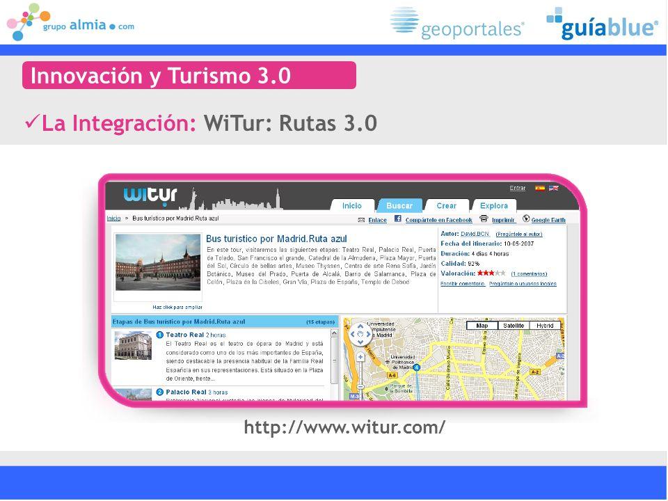 La Integración: WiTur: Rutas 3.0