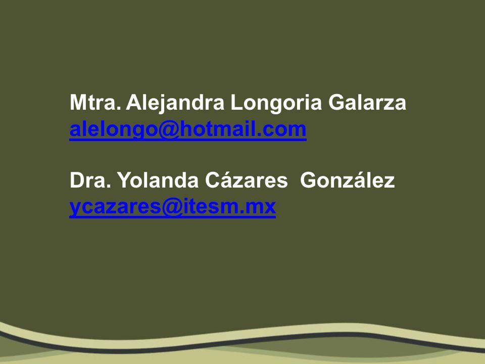 Mtra. Alejandra Longoria Galarza