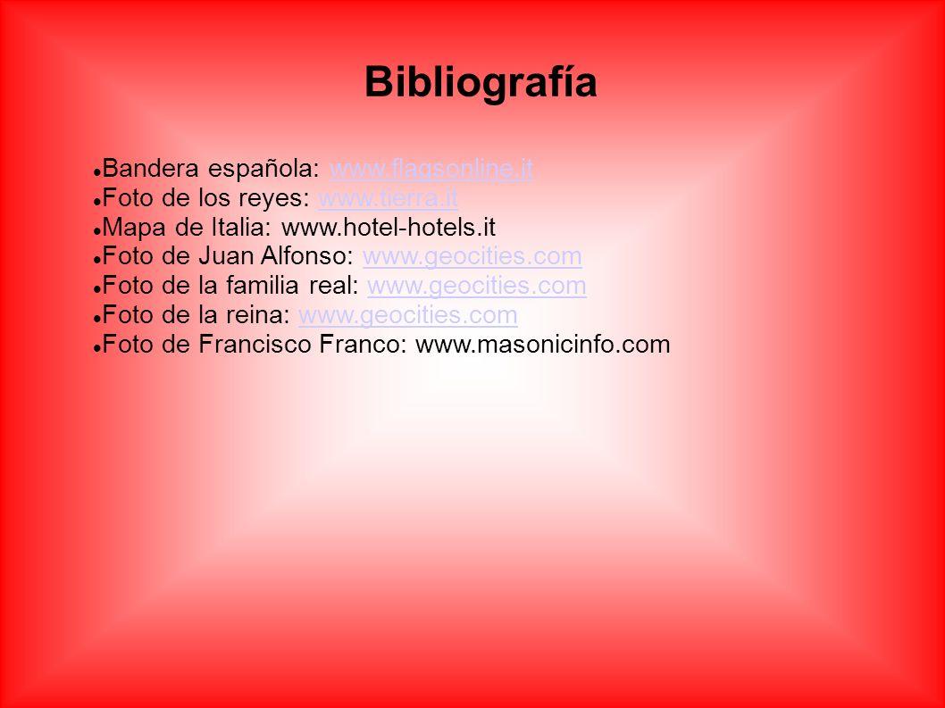 Bibliografía Bandera española: www.flagsonline.it