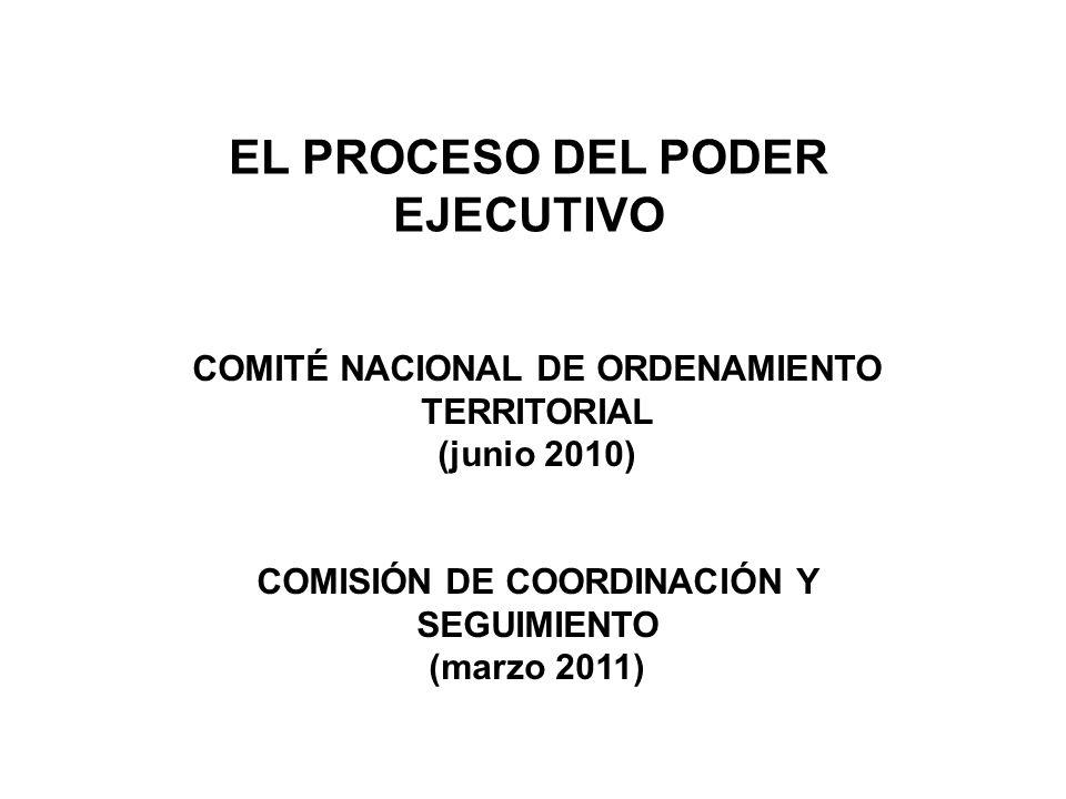 EL PROCESO DEL PODER EJECUTIVO