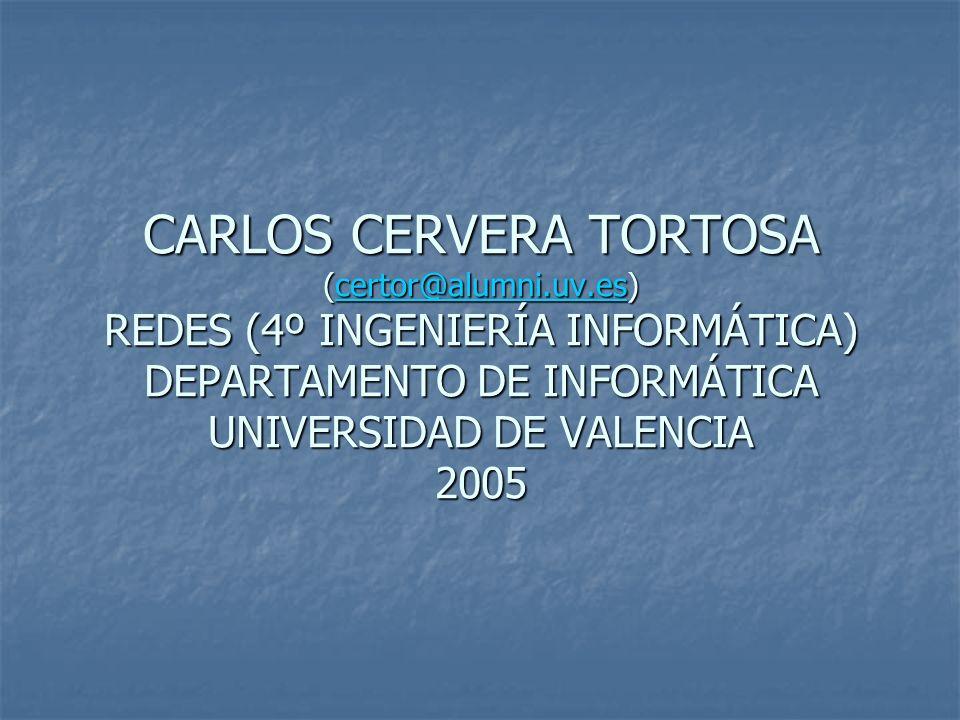 CARLOS CERVERA TORTOSA (certor@alumni. uv