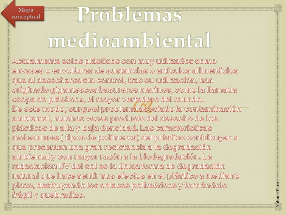 Problemas medioambiental
