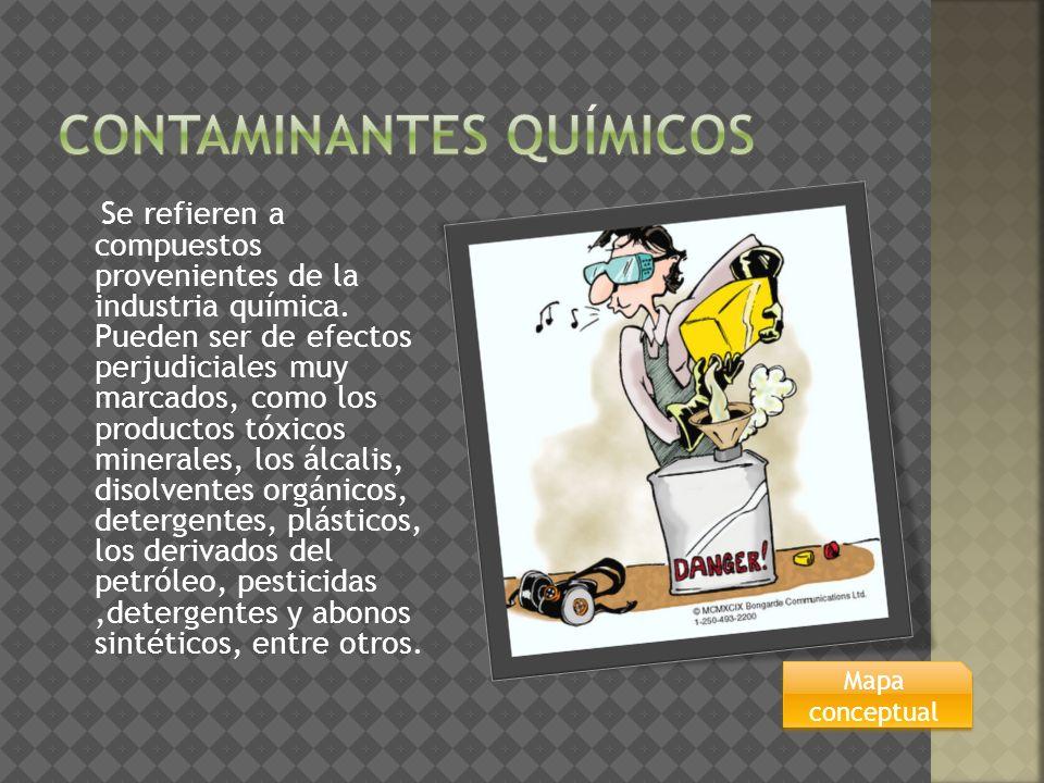 Contaminantes químicos
