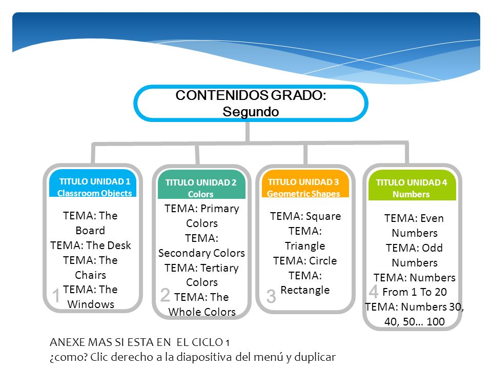 TEMA: Secondary Colors